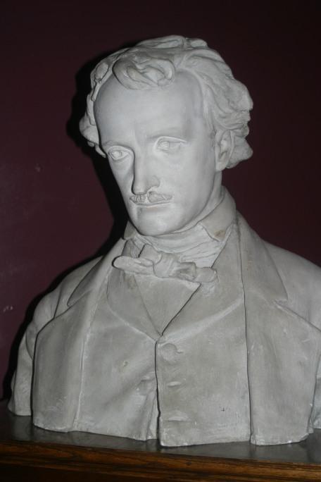 Bust of Edgar Allen Poe